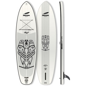 Indiana SUP 10'6 Allround Opblaasbare SUP, white/grey